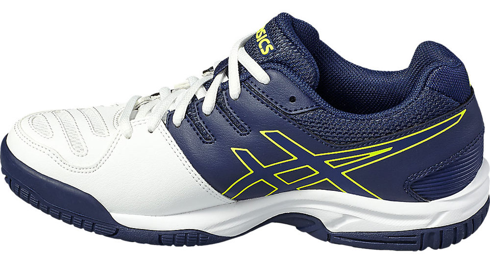 asics Gel Game 5 GS Junior Tennis Shoes. View Larger Images