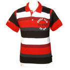 Ulster Rugby Hooped Polo Shirt