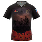 Army Evermore Poppy Rugby Shirt