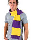 Supporters Scarf - Purple/Yellow
