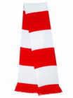 Supporters Scarf - Red/White