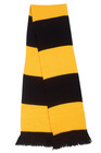 Supporters Scarf - Black/Gold