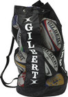 Gilbert Rugby Breathable Ball Bag - Black