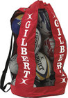 Gilbert Rugby Breathable Ball Bag - Red