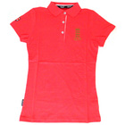 England Cricket Women's Polo Shirt Coral