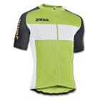 Joma Cycling Tour Jersey - Lime