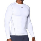 UA CG Armour Compression Crew - White