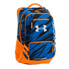 UA Hustle II Storm Backpack - Blue/Orange