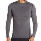UA CG Armour Compression Crew - Carbon