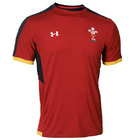 Wales Rugby Training T-Shirt - Red