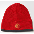 adidas Manchester United Football Beanie Hat - Red