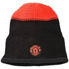 Manchester United Football Beanie Hat - Black