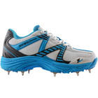 GN Velocity Blue Spike Jnr Cricket Shoes