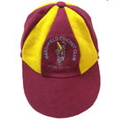 Marshfield Maroon/Gold Panel Cricket Cap