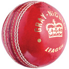 GN Womens League Cricket Ball - 5oz - Red