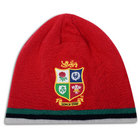 British & Irish Lions Fleece Lined Beanie - Red