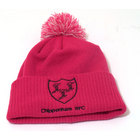 Chippenham Rugby Bobble Beanie Hat - Pink