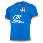 Macron Italy Home Rugby Shirt 2017/18