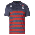 England Rugby Cotton Stripe Polo Shirt