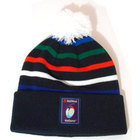RBS Six Nations Striped Bobble Beanie