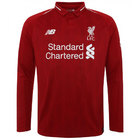 Liverpool Home L/S Football Shirt 18/19
