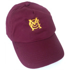 Marshfield Junior Cricket Cap - Burgundy