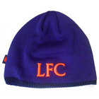 New Balance Liverpool Football Beanie - Deep Violet